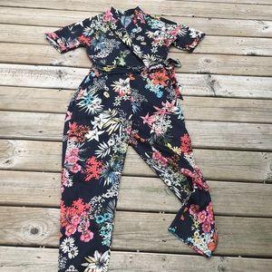 Zara basic collection floral jumper